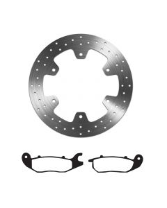 EBC Sintered Brake Pad and Delta Front Disc - Honda CBR 125