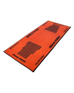 Bike Tek Non-slip Garage Workshop Mat Orange