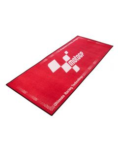 Bike Tek Non-slip Garage Workshop Mat Moto gp (Red)