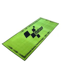 Bike Tek Non-slip Garage Workshop Mat Moto gp (Green)