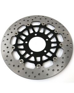 Replacement Stainless Front Brake Disc (Pair) - Triumph Daytona 955i 01-06 + More
