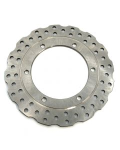 Replacement Wavy Stainless Steel Rear Brake Disc - Yamaha YZF-R1 02-03 / YZF-R6 99-02