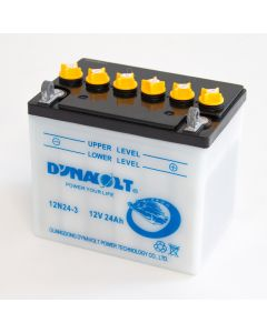 12N24-3 Dynavolt VRLA Motorcycle Battery 12V 24Ah