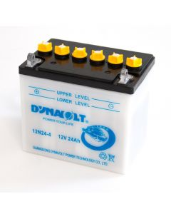 12N24-4 Dynavolt VRLA Motorcycle Battery 12V 24Ah