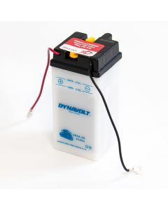 6N4A-4D Dynavolt VRLA Motorcycle Battery 6V 4Ah