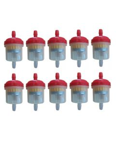 Universal Fuel Filter Type 1 Red x10