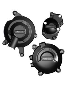 GB Racing Engine Case Cover Set (Alternator / Clutch / Pulse) - Triumph Daytona 675 R 13-16