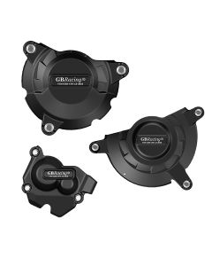 GB Racing Engine Case Cover Set (Alternator / Clutch / Pulse) - Kawasaki ZX-10R 11-19