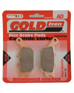 Goldfren AD021 Ceramic Carbon Brake Pads Replace VD163,FA174,FDB754,SBS670