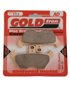 Goldfren AD117 Ceramic Carbon Brake Pads Replace VD941,VD959,FA170,FA246,FA407