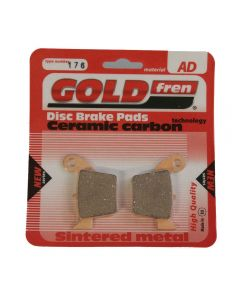 Goldfren AD176 Ceramic Carbon Brake Pads Replace FA346,VD168,SBS777,FDB2139