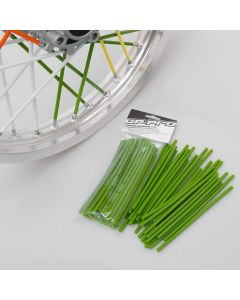 GP Pro Supermoto Spoke Coats - Green 18CM 40pk
