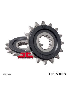 JT - Rubber Cushioned Front Sprocket 1591RB-16