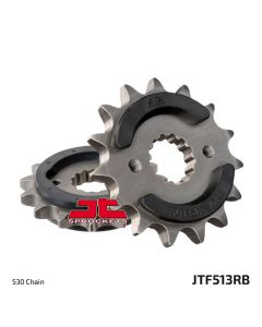 JT - Rubber Cushioned Front Sprocket 513RB-15