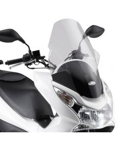 Kappa Transparent High Scooter Screen 59.5cm For Honda PCX 125 10-13 |150 10-13