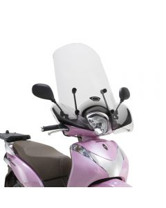 Kappa Transparent High Scooter Screen 43cm For Honda SH Mode 125 13-18