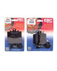 EBC Complete Front and Rear Organic Brake Pad Kit BMW G310 16-19 FA606 FA213