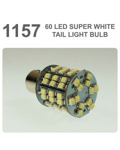 Replacement 380/ 1157 60 White LED Tail, Brake, Indicator Light Bulb