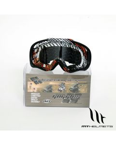 MT MX Pro III Goggles - Orange