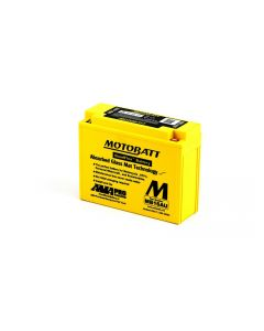 MB16AU Motobatt AGM Motorcycle Battery 12V 20Ah
