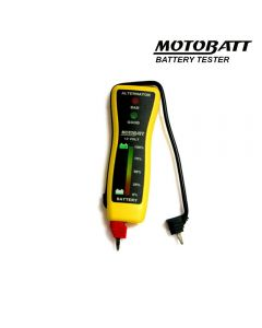 MB-VM Motobatt 12V Pocket Voltmeter And Altenator Tester
