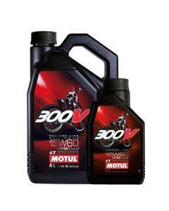 Motul 15W60 4T - 300V Factory Line Off Road Engine Oil