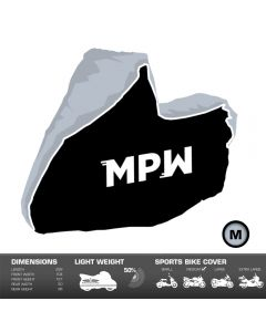 MPW Waterproof Motorcycle Moped Scooter Outdoor Rain / Dust Cover - Medium