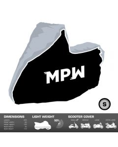 MPW Waterproof Motorcycle Moped Scooter Outdoor Rain / Dust Cover - Small