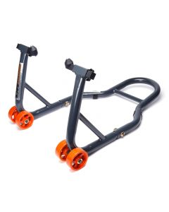 MPW Race Dept - Motorcycle Font Paddock Stand Race Type (Grey)