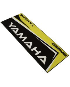 MPW Race Dept Non-slip 200x75cm Motorcycle Garage Workshop Mat Yamaha - Yellow