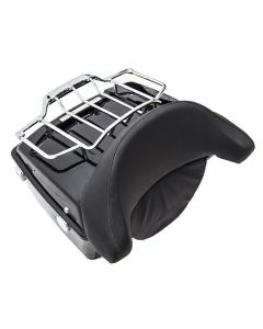 Luggage Rack And Top Box with Backrest for Harley-Davidson Touring Models 00-13