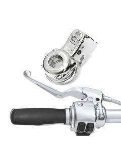 Clutch Lever Perch Bracket For Harley Electra Touring Dyna Softail Sportster - Chrome