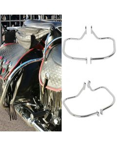 Chrome Rear Saddlebag Guard For Harley Softail Heritage Springer FLSTS 97-99