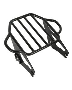 Detachable Two Up Pack Mount Luggage Rack For Harley Touring Models 2009-2018