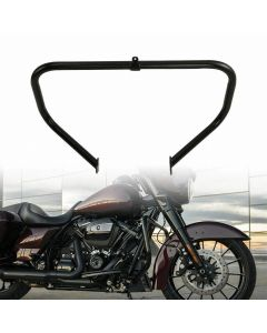 Black Highway Engine Guard Crash Bar Fit For Harley Touring Electra Street Glide 09-18