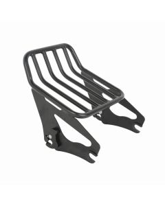Detachable Two-Up Tour-Pak Luggage Rack for Harley Touring FLHX FLTR 2009-2018