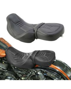 Driver Passenger Seat Set For Harley Touring CVO Street Glide 10-12 15-20