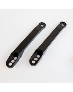 Kawasaki ZX-14R Aluminium Motorcycle Lowering Links - Black