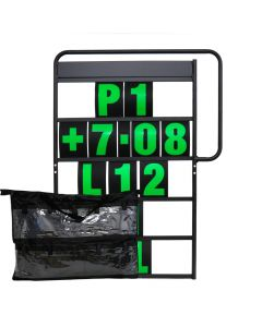 MPW Race Dept 100cm x 65cm Complete 5 Row Pit Board Kit - Green