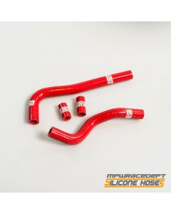 Honda CRF150 2007-2015 MPW Race Dept 4 Piece Silicone Hose Kit Red
