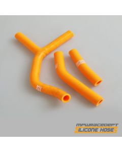 KTM 250SX 2001-2006 MPW Race Dept 3 Piece Silicone Hose Kit Orange