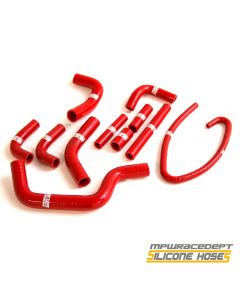 Ducati Monster S4 2001-2003 MPW Race Dept 11 Piece Silicone Hose Kit Red