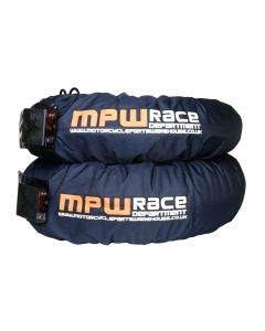 MPW Race Dept Digital Superbike Tyre Warmers 120/160 - Dark Grey