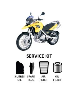 BMW F650GS 2004-2008 Full Service Kit inc. Spark Plug,Filters,Oil