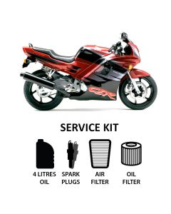 Honda CBR 600 F2 1991-1994 Full Service Kit inc. Spark Plugs,Filters,Oil
