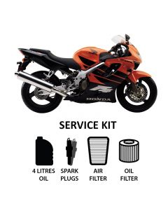 Honda CBR 600 F4 1999-2000 Full Service Kit inc. Spark Plugs,Filters,Oil