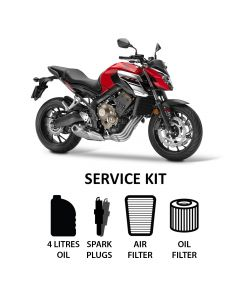 Honda CB 650 F 2015-2017 Full Service Kit inc. Spark Plugs,Filters,Oil