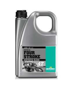 Motorex 10W40 4T - Four Stroke Engine Oil - 4 Litre