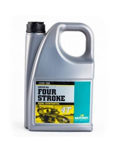 Motorex 15W50 4T - Four Stroke Engine Oil - 4 Litre