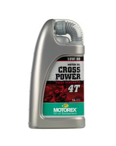Motorex 10W60 4T - Cross Power Engine Oil - 1 Litre